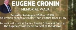 Eugene Cronin Memorial Walk Sat 03 August