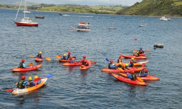Kayaking Bantry Bay